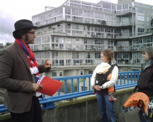 """Labout History in the Downtown Eastside walking leader Am Johal"