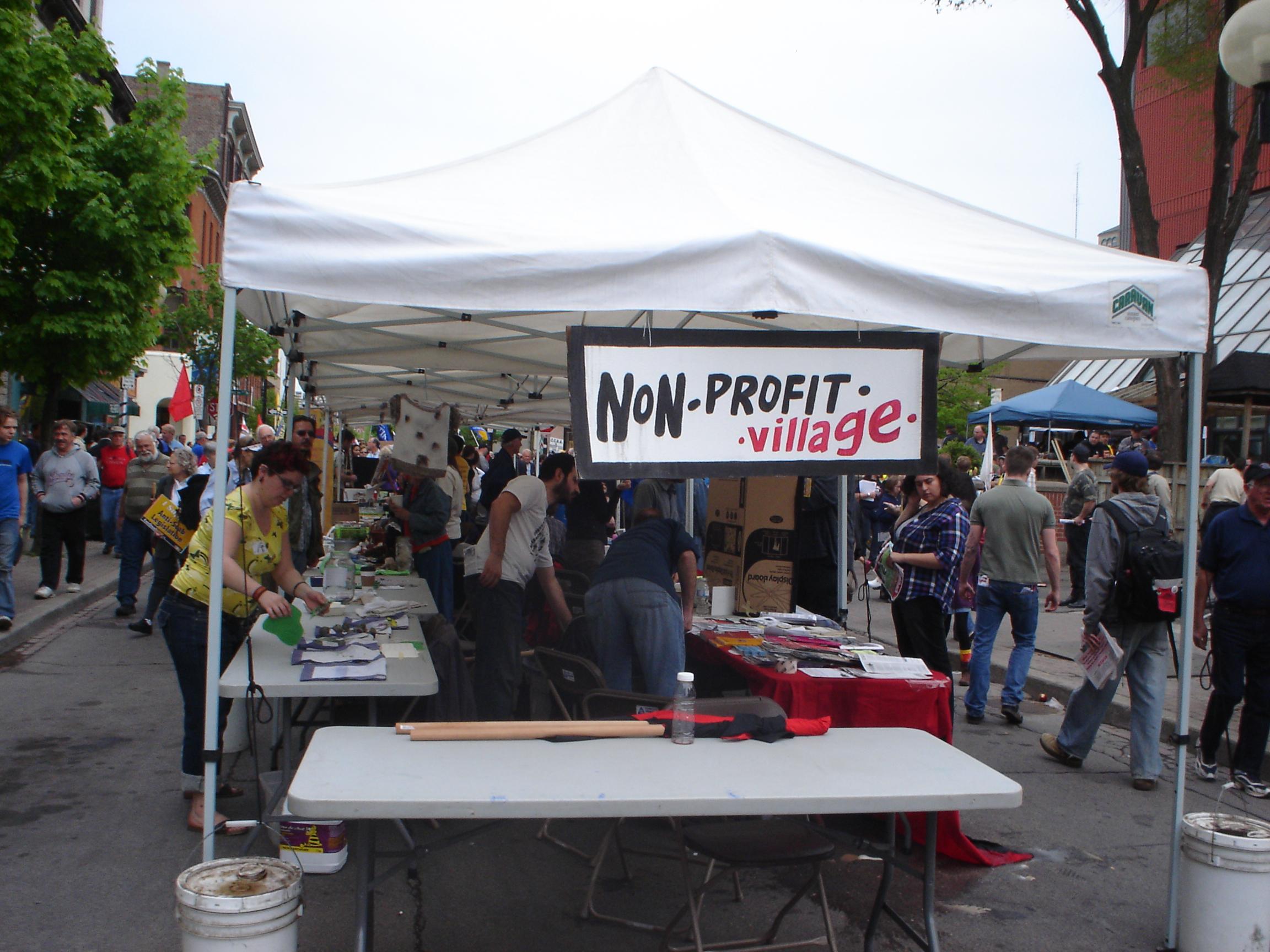 non-profit village