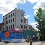 Colborne Street demolition