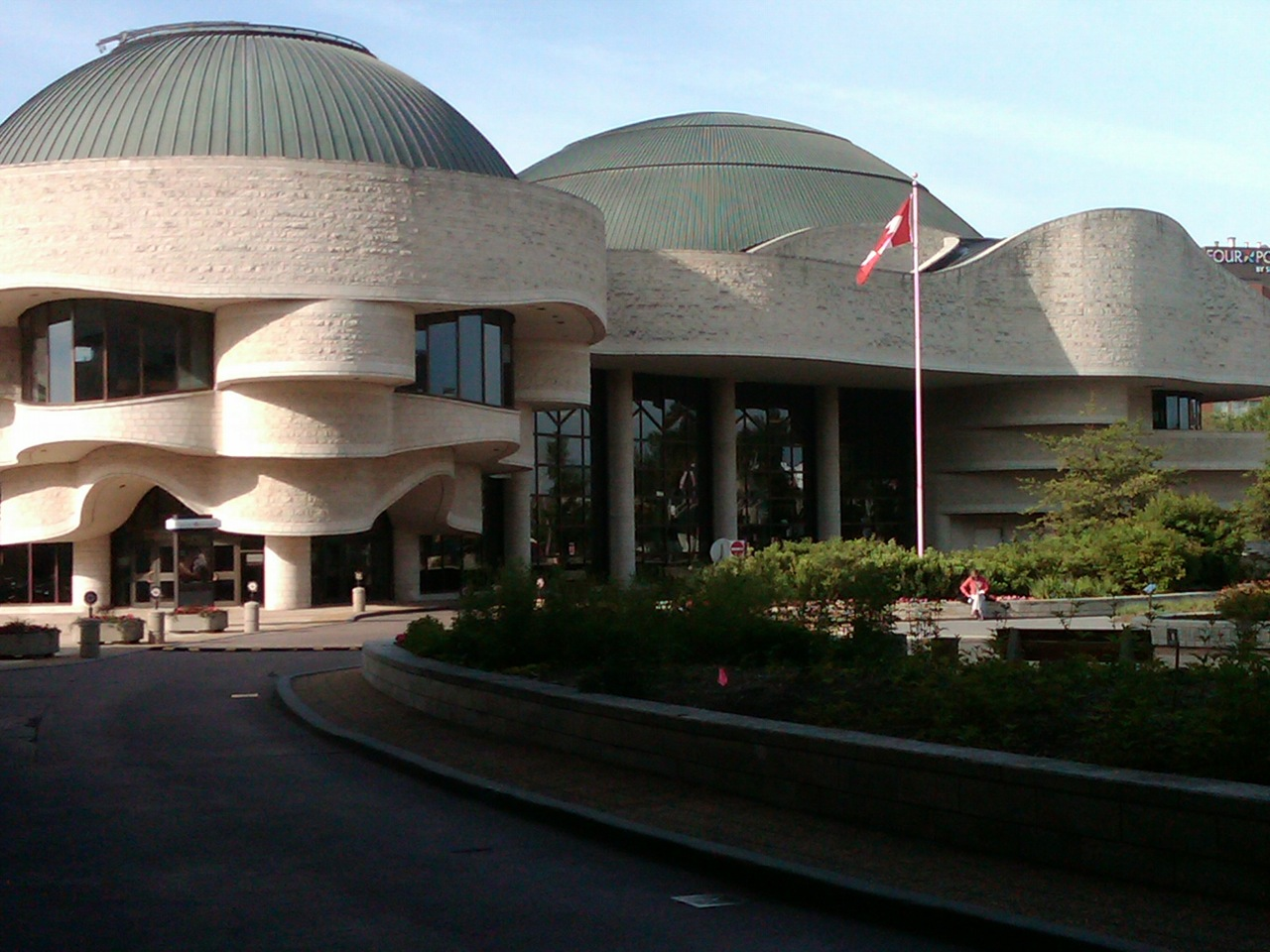 International museum day at the canadian museum of for Museum of civilization quebec