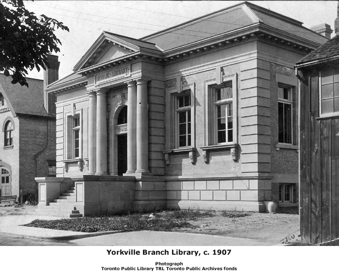 From Andrew Carnegie to Margaret Atwood: Toronto's ... Andrew Carnegie Library