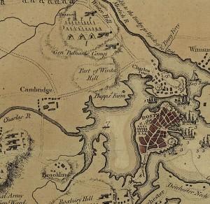 Boston Map 1775