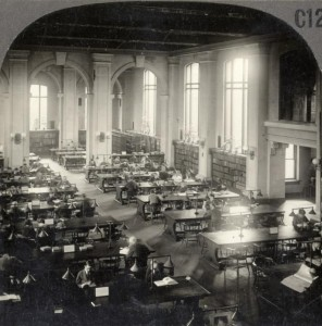 Toronto Public Library Central Library (College St. and St. George), 1923. Source: Toronto Reference Library, Baldwin Room, 979-2-2.