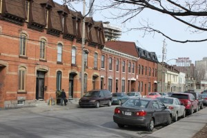 Traditional Griffintown houses