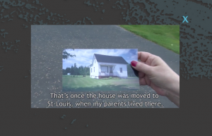 Video of Linda Cormier talking about their house in the St-Olivier/Cap St-Louis region of the park.