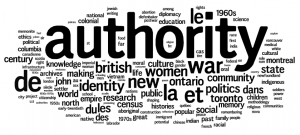 CHA 2009: Ottawa Keywords: Authority, War, New, British, Identity