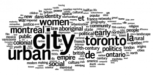 2006: York University Keywords: City, Urban, Toronto, Montreal, Women