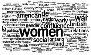 CHA 2004: University of Manitoba Keywords: Women, War, American, British, Confluence