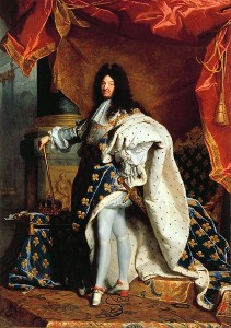 Portrait of Louis XIV of France by Hyacinthe Rigaud, 1701