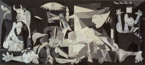Guernica by Pablo Picasso. 1937. Oil on canvas.