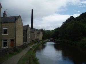 Hebden Bridge, Yorkshire in 2010 (photograph by author)