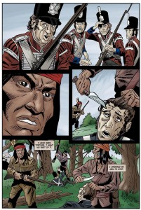 Figure 4. Tecumseh Stops a Scalping, pg 85. With permission.