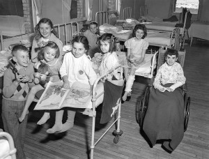 Young Patients, Halifax Children's Hospital, 1948. Wikimedia Commons