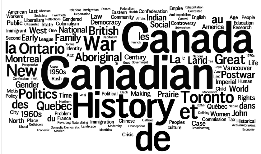 what does canadian history look like impressions from the  figure four chr article titles