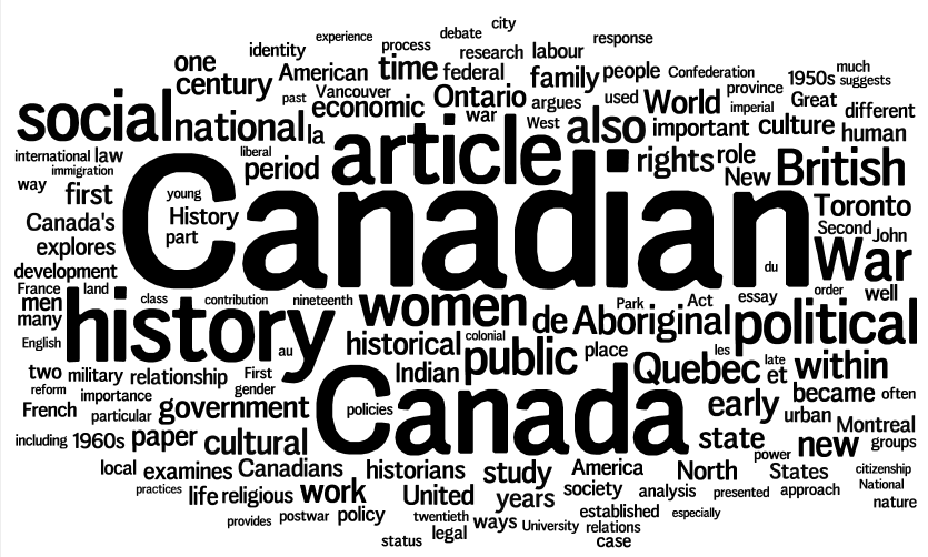canadian historical review review essay Below are links to some sample essay reviews these examples all review books rather than articles the essay review generational hauntings: a cultural history.