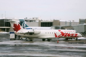 Aircraft operated by Air Canada Jazz (now Air Canada Express), regional partner of Air Canada formed after the airline was privatized. Source: Wikipedia Commons.