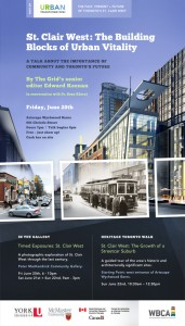 Urban Transformations public events web poster