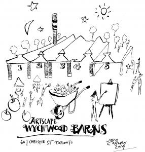 Artscape Wychwood Barns, by John Coburn (2014)