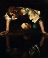 """Caravaggio, """"Narcissus,"""" c. 1597-99"""