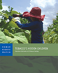 Human Rights Watch Tobacco Workers