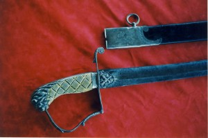Mookomaanish's Sword - Image Courtesy of the Ojibwe Cultural Foundation
