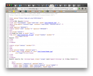 The HTML soup that runs the web.