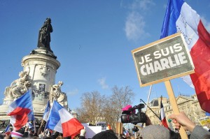 Paris Rally in Support of the Victims of the Charlie Hebdo Shootings, 11 Jan 2015