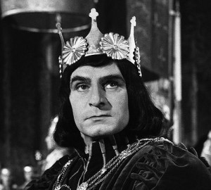 Not such a bad guy after all? Olivier as Richard III, 1955.