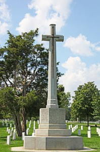 Canadian Cross of Sacrifice at Arlington National Cemetery