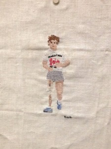 Terry Fox Crochet from the MCH exhibit