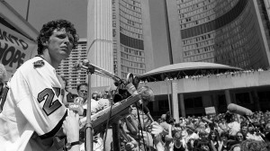 Fox rally in Toronto, 1980. Toronto Star