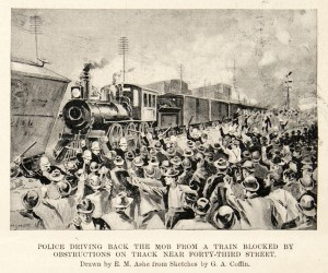 Pullman strikers. Harper's, 1894.