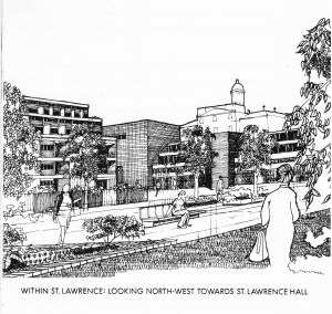 1974 conceptual sketch of St Lawrence. City of Toronto