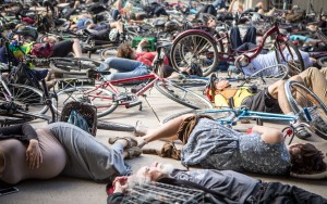 Cycle Toronto Die-in, June 2015. Jesse Milns