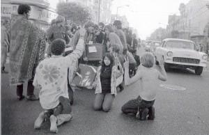 The Death of Hippie, 1967. Kaitlyn Thibodeau.