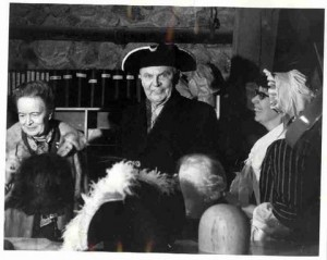 John and Olive Diefenbaker at Louisbourg, 1968. University of Saskatchewan Archives.