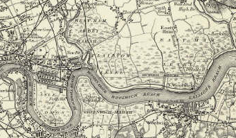 The Environs of London. 1855.