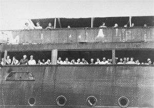 Jewish refugees aboard the SS St. Louis, 1939. United States Holocaust Memorial Museum.