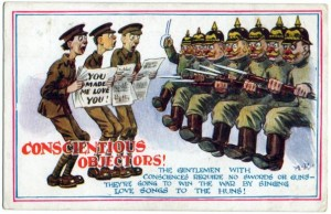 A First World War era postcard. Credit: unattributed, but fair use
