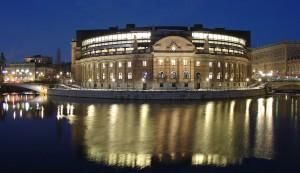 Riksdagshuset. Wikipedia Commons.