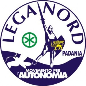 Italy's Northern League party logo