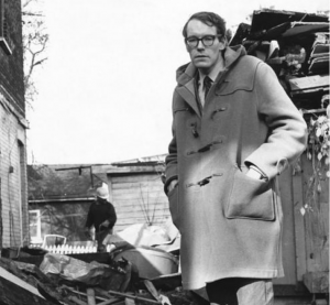 Sewell the neighbourhood activist, late 1960s. John Sewell's photo.