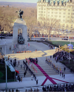 Department of National Defence / Library and Archives Canada / ecopy, R112-4004-8-E, Remembrance Day Ceremonies, Ottawa, 1962.