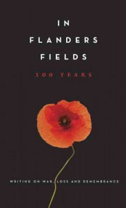 Bok cover of In Flanders Fields 100 Years, from Knopf Canada