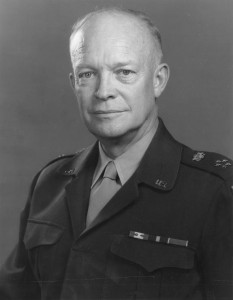 General of the Army and future President Dwight Eisenhower, 1947. Wikipedia Commons.