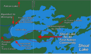 Shoal Lake No. 40 [Online image]. (2014) Retrieved February 26 from http://www.canadianswinnipeg.org/apps/blog/show/42492677-the-other-end-of-the-aqueduct.