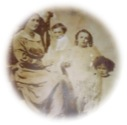 CFWW Gehl Figure 4 - Annie Jane Gagnon (nee Menesse) and three of her five children