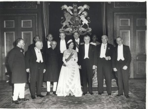 Diefenbaker at the Prime Minister's Commonwealth Conference in 1960. Diefenbaker was anxious to develop economic connections with the Commonwealth, but few opportunities to do so existed outside of joint aid initiatives. Wikimedia Commons.