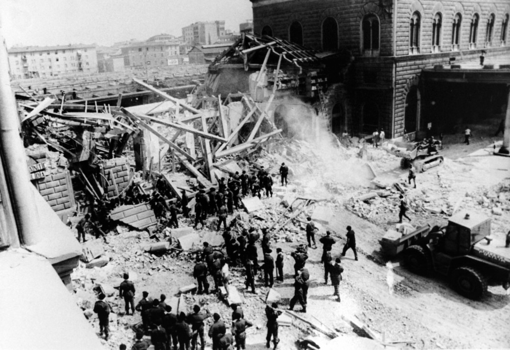 1980 Bologna Railway Bombing. Getty Images