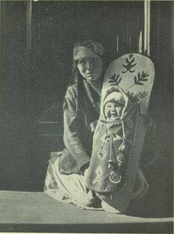 """A Madonna of the Kootenays"" from Victoria Hayward's Romantic Canada"